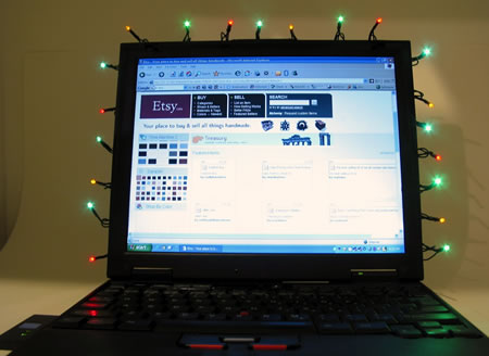 luces de navidad usb