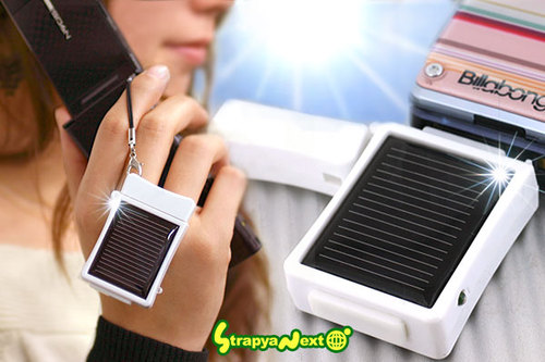 recargador de movil energia solar