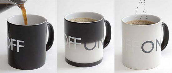 taza cafe on off