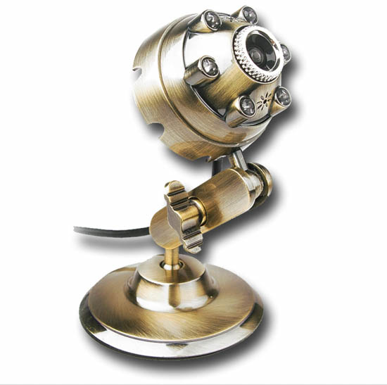 webcam steampunk