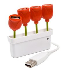 hub usb tulipan