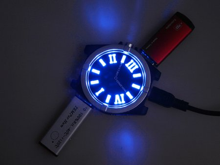 reloj usb hub