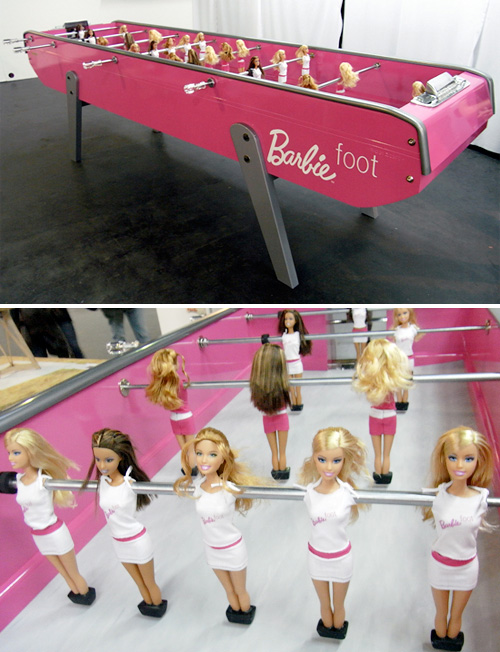 barbie-futbolin