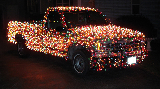 coche-decoracion-navidad