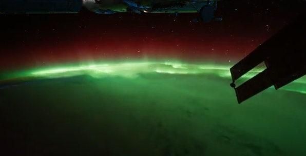 auroras-boreales-desde-espacio