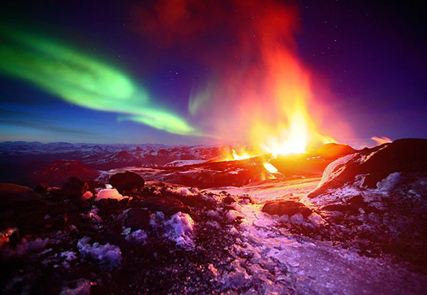 auroras-boreales-volcanes